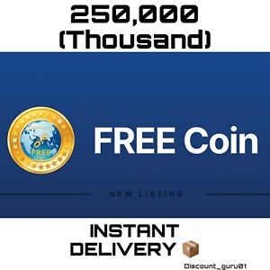🚀 250,000 FREE COIN 🚀 - ⭐ CHEAPEST - Crypto Mining, INSTANT DELIVERY 📦