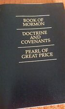 2015 Softcover regular print triple combination Book Of Mormon, D&C, and TPOGP