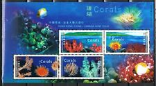 Joint Issue 2002 Hong Kong blok 101 koralen - corals cat waarde € 8