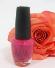 Opi Nail Polish Lacquer That's Berry Daring .5 oz Pink Magenta Red Fuschia New