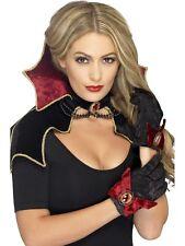 Countess Vampire Collar Gloves and Cape Halloween Costume Set