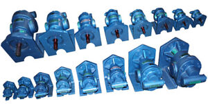 capacity 50 LPM High Temperature Rotary Gear Pump HGBX 100 HEAVY DUTY