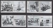 GB 3787-3794 Shackleton set (8 stamps) MNH 2016
