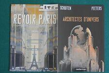 SCHUITEN / Revoir Paris publicité