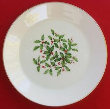 "Lenox China Holiday (Dimension / Presidential) 8"" SALAD / SIDE PLATE - MINT!"