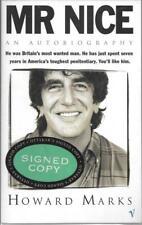 Mr Nice - Howard Marks - Vintage - SIGNED - Acceptable - Paperback
