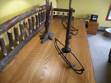Canoe candle stick holder, unique one of a kind fordinning room,camp or lodge
