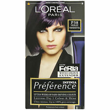 L'Oreal Preference Feria P38 Violet Vendetta Permanent Hair Colour