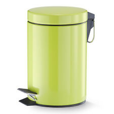 Zeller 18201 Treteimer 3 Liter Metall Ø17 X 26.5 Cm grün