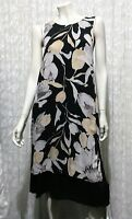 ANIMALE WOMENS SIZE S FLORAL LAYERED DRESS