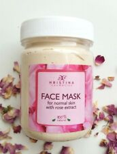100% Natural face mask with Bulgarian Rose  / for normal skin, REAL ROSE AROMA !