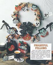 *Frightful Fellows To Stitch*Plastic Canvas Pattern*