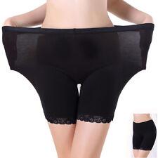 Women Underwear Lace Borders Plus Size Safety Shorts Pants Leggings Solid Pretty