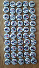 New Listing50 Miller Lite Beer Bottle Caps Clean and No Dents