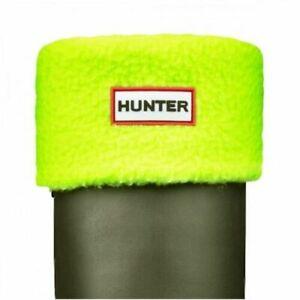 Ladies Neon Hunter Fleece Tall Boot Welly Socks US Size Large 7 - 9