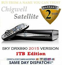 BRAND NEW 1TB SKY + HD SATELLITE BOX AMSTRAD DRX890 ☆ MASSIVE 1TB UPGRADE☆