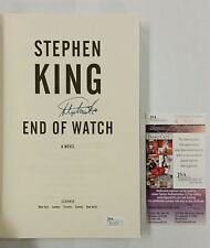 STEPHEN KING SIGNED END OF WATCH 1ST EDITION BOOK JSA R11619 IT HORROR WRITER