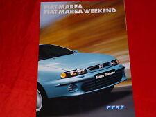 FIAT Marea + Marea Weekend SX ELX HLX prospetto di 2001