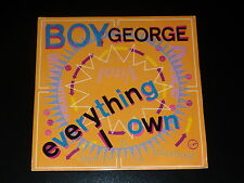 45 tours SP - BOY GEORGE - EVERYTHING I OWN -  1987