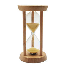 10 Minutes Wooden Sand Timer Hourglass Home Decoration Desktop Ornament Gift
