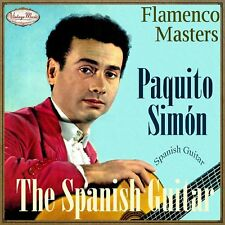 PAQUITO SIMON CD Spanish Guitar / Spain Guitar Baile Flamenco Guitarra Master