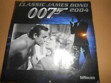 Classic James Bond 007 - *SEALED/UNUSED* 2004 Calendar teNeues
