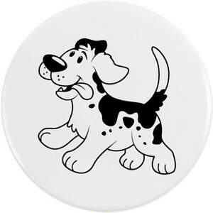 'Happy Dog' Button Pin Badges (BB029045)
