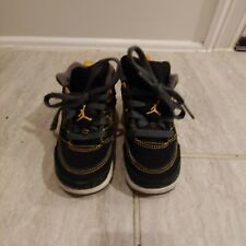 Jordan Tennis Shoes Boys Toddler Size 8 Black High Tops 8C