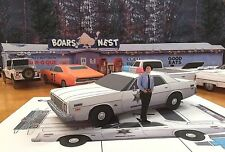 Papercraft Dukes Of Hazzard Cletus 1975 Plymouth Fury EZU-make Paper Model Car