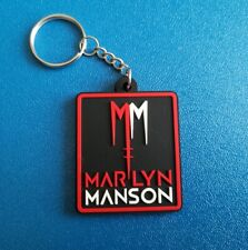 MARILYN MANSON KEY-RING SILICONE RUBBER MUSIC FESTIVAL