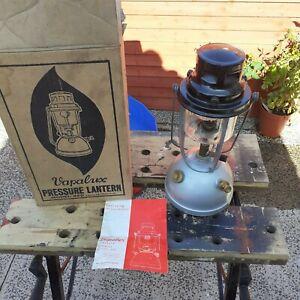 VAPALUX M320 KEROSENE PRESSURE LANTERN LAMP VERY GOOD COND original box