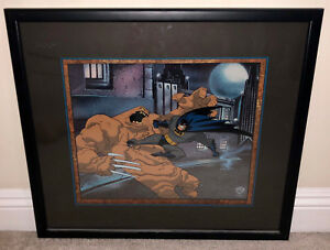 BATMAN ANIMATED SERES - LIMITED EDITION CEL - FEAT OF CLAY - CLAYFACE - RARE
