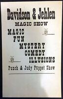 Original Davidson & Jehlen Window Card