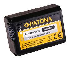 PATONA AKKU 7,2V 950mAh f. Sony Alpha A7 A7R A7S II NEX kompatibel mit NP-W50