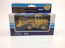 Joal Ref # 214 Construction Vehicle CAT 920 Wheel loader  1:50 Scale