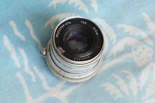 Industar-26m 52mm F/2.8 FOR M39 Fed Zorki Leica