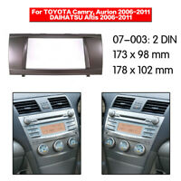 Car 2Din Frame Radio Fascia Panel DVD Dash Trim for TOYOTA Camry/Aurion / Altis
