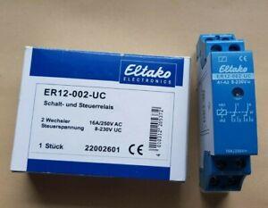 Eltako ER12 002 UC  8 - 230 V Schalt Relais elektronisch Neu