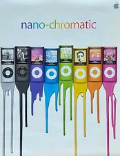Apple ipod CHROMATIC Mini POSTER Nano 4th Gen.