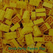 Lego 2X3 Yellow Bricks Lot of 50-200 Lego 3002 Bricks 2 x 3 Blocks Elements