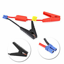 Booster Cable Charging Clamp Car Battery Connection Jumper Jump Start Charge ES