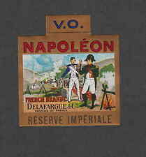 Ancienne   étiquette  France   Alcool   Cognac  Napoléon  French Brandy