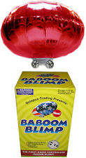 RC Radio-Controlled Baboom Flying Saucer (Indoor Blimp/Balloon) 27MHz UFO in RED
