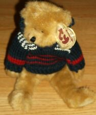 "TY-ATTIC TREASURES COLLECTION-MALCOLM W/SWEATER--NEW!  11""H"