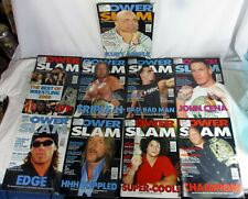 "9 ""POWER SLAM THE WRESTLING MAGAZINE"" ISSUES 129, 134, 140 -146 2005-6"