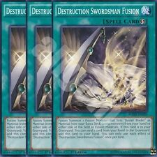 BOSH-EN059 3x DESTRUCTION SWORDSMAN FUSION (FUSIONE SOLDATO SPADA DISTRUZIONE)