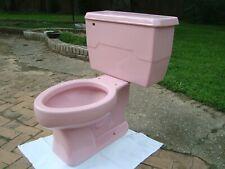 Retro 1973 Kohler K4212 Pink Champagne Elongated Toilet System