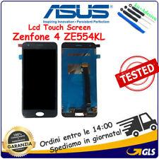 TOUCH SCREEN VETRO + LCD DISPLAY ASUS ZENFONE 4 ZE554KL S660 Z01KD Z01KDA NERO