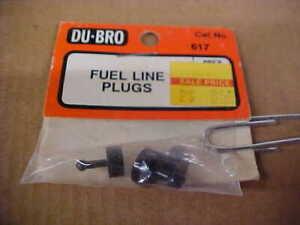 DU-BRO 617 = FUEL LINE PLUGS  (NEW)