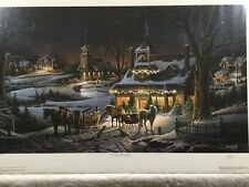 Terry Redlin EVENING REHEARSALS S/N Limited Edition Print